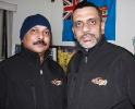 Marketing director Paul Chand with Omar Khan