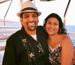 Radio S1 Dhamaka's AveeGee and wife Rani Ji