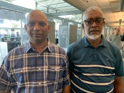 Former Fiji boxer Jagat Singh meets trainer Ali after 38 years
