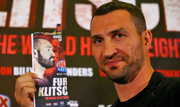 Image - Klitschko: Tyson Fury' Invisible Man'