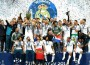 Real Madrid players celebrate Champions League win: BBC