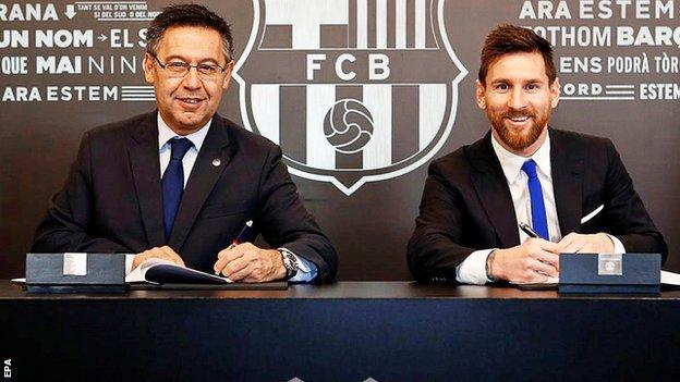 Image - Messi agrees to new contract