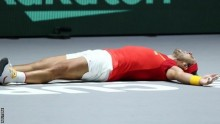 Rafeal Nadal wins Davis Cup for Spain
