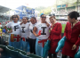 Fiji fans at the Hong Kong stadium. Photo Credit: RG