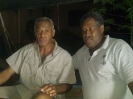 Nadi's Henry Dyer and Emosi Koroi Bacardi during Sportsone's Hall of Fame induction ceremony