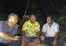 John Grey (L), Akriva Rasumu (C), Prem Chand (R)