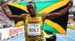 Jamaican sprinter Usian Bolt