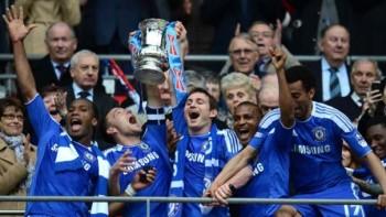 Blues celebrate. Source: FA.com