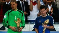 Argentina�s Lionel Messi was named the tournament�s best player by FIFA�s Technical Study Group.