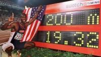 USA Athlete Micheal Johnson
